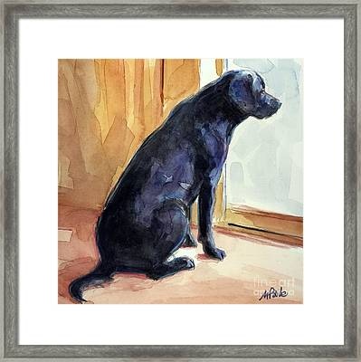 Morgan's View Framed Print by Molly Poole