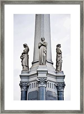 Moriarty Tomb Framed Print by Kathleen K Parker