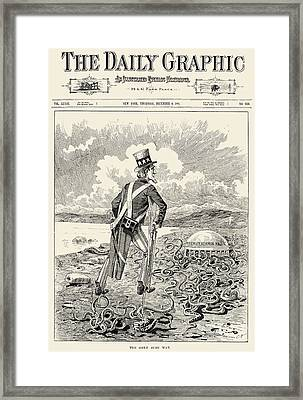 Mormons: Polygamy, 1883 Framed Print by Granger