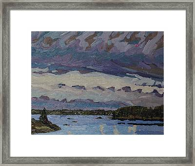 Morning Cloud May 2016 Framed Print by Phil Chadwick