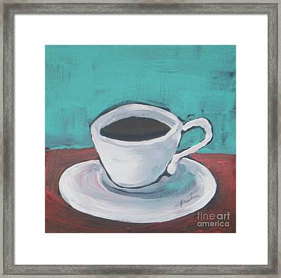 Morning Coffee Framed Print by Vesna Antic