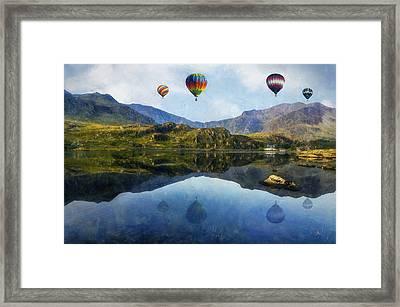 Morning Flight Framed Print by Ian Mitchell