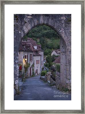 Morning Gate Framed Print by Brian Jannsen