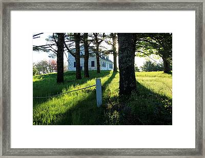 My Heart Sings Framed Print by Laurie Breton