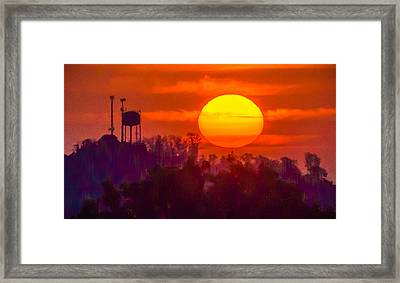 Morning Glory Framed Print by Richard Marquardt