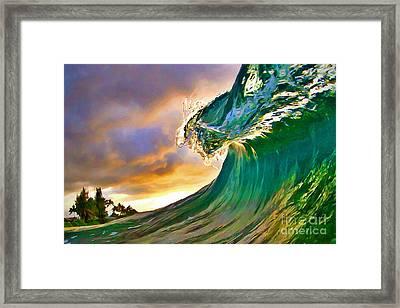 Morning Glow Framed Print by Paul Topp