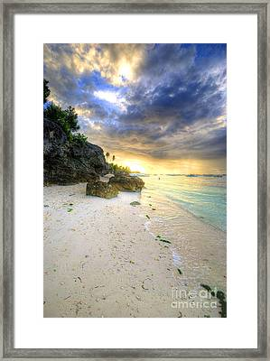 Morning Glow Framed Print by Yhun Suarez