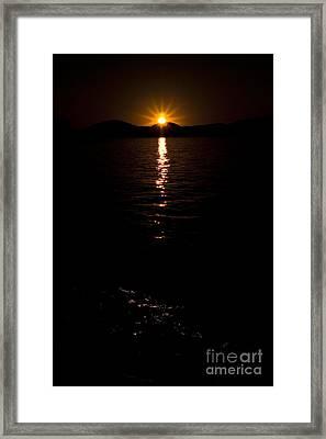 Morning Has Broken Framed Print by Tamyra Ayles