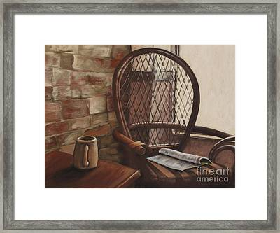 Morning Haven Framed Print by Tina Foote