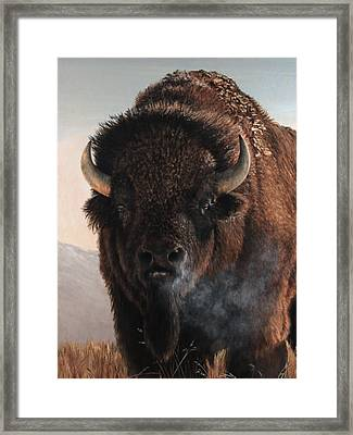 Morning In The Foothills  Framed Print by Rob Dreyer AFC