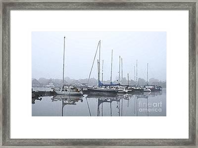 Morning In The Harbor Framed Print by Stefan Kuhn