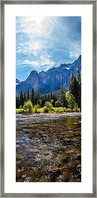 Morning Inspirations 3 Of 3 Framed Print by Az Jackson