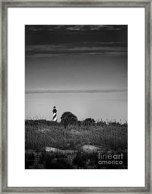 Morning Light-bw Framed Print by Marvin Spates