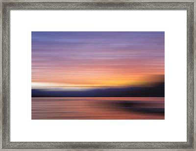 Morning Light V Framed Print by Jon Glaser