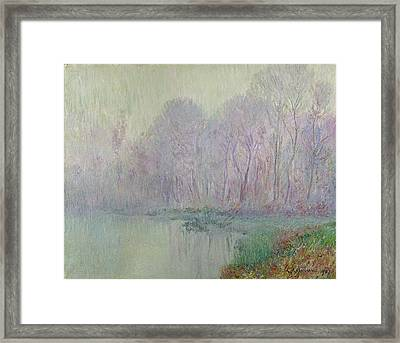 Morning Mist Framed Print by Gustave Loiseau