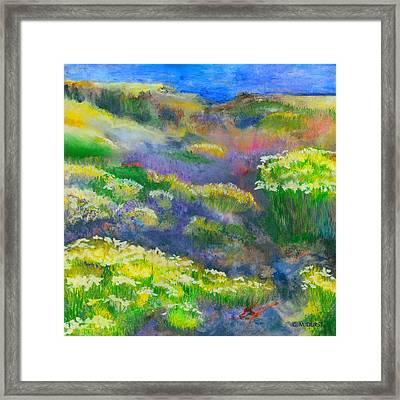Morning Mist Framed Print by Michael Durst