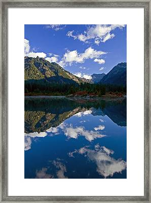 Morning Musings Framed Print by Mike  Dawson