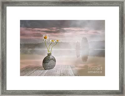 Morning On The Beach Framed Print by Veikko Suikkanen