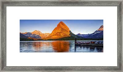 Morning Panorama Framed Print by Andrew Soundarajan