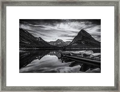Morning Peace Framed Print by Andrew Soundarajan