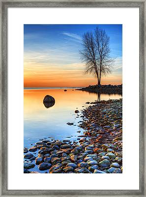 Morning Reflections  Framed Print by James Marvin Phelps