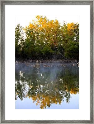 Morning Reflections Framed Print by Jennifer  Lane