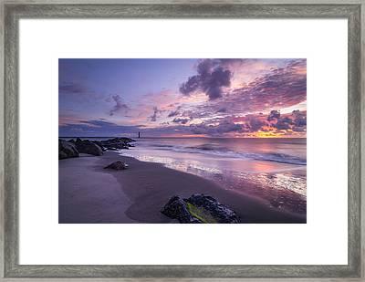 Morning Rise Framed Print by Steve DuPree