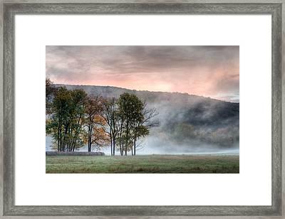 Morning Serenity Framed Print by James Barber