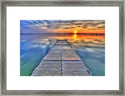 Morning Sky Framed Print by Scott Mahon