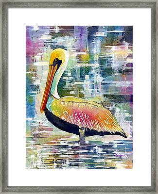 Morning Solitude Framed Print by Hailey E Herrera