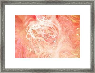 Morning Star Framed Print by Linda Sannuti