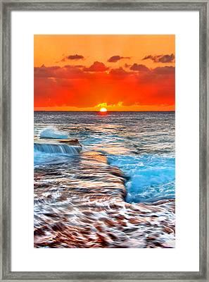 Morning Sun Framed Print by Az Jackson