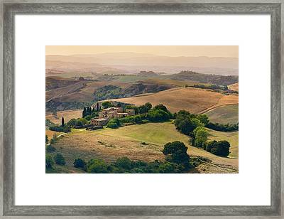 Morning View Framed Print by Mauro Maione