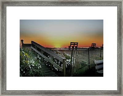 Morning View  Framed Print by Skip Willits