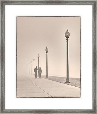 Morning Walk Framed Print by Don Spenner