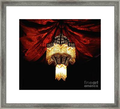 Moroccan Glow Framed Print by Slade Roberts