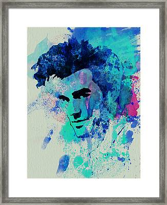 Morrissey Framed Print by Naxart Studio