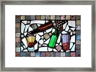 Mosaic Framed Print by Kristin Elmquist