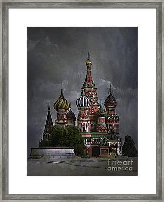 Moscow... Framed Print by Andrzej Szczerski