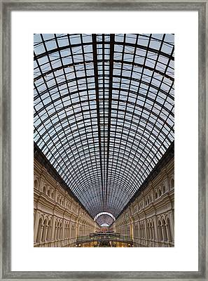 Moscow Gum  Framed Print by Stelios Kleanthous
