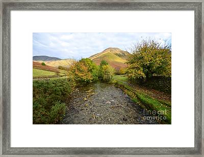 Mosedale Beck Framed Print by Stephen Smith