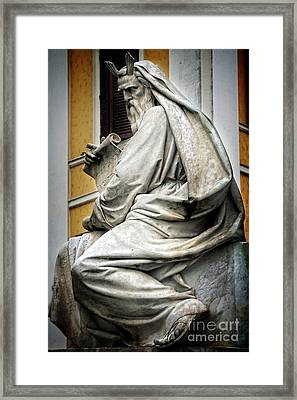 Moses By Jacometti Framed Print by HD Connelly