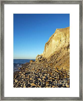 Moshup Beach Framed Print by John Greim