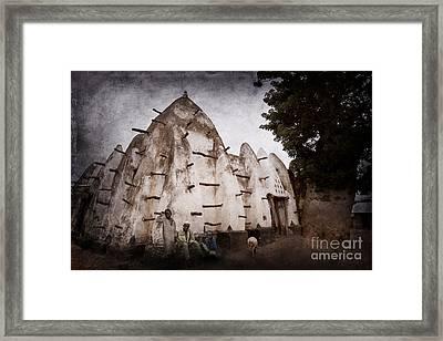 Mosque Framed Print by Naoki Takyo