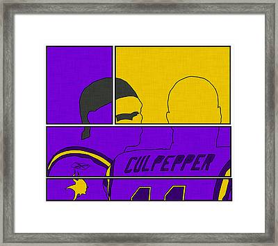 Moss And Culpepper Framed Print by Kyle West