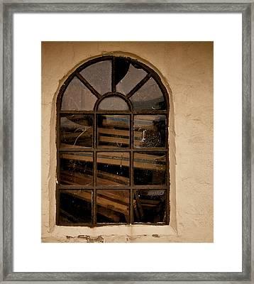 Mote In The Eye Framed Print by Odd Jeppesen