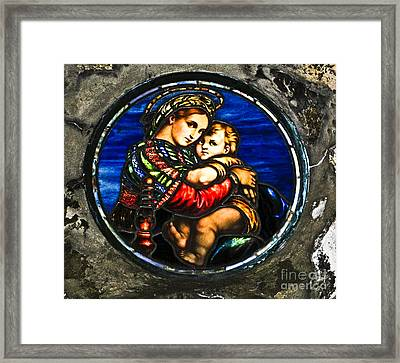 In God We Trust Framed Print by Carol F Austin