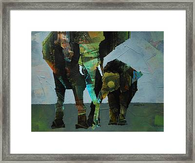 Mother And Child  Framed Print by Sharath Palimar