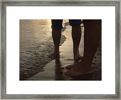 Mother And Daughter Framed Print by Ali Dover