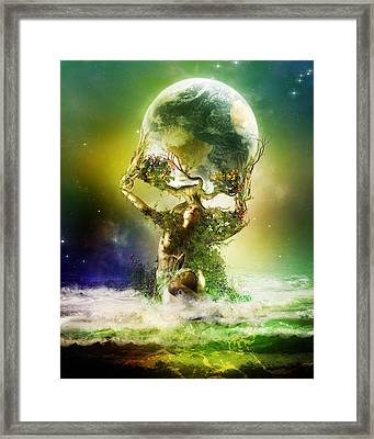 Mother Earth Framed Print by Mary Hood